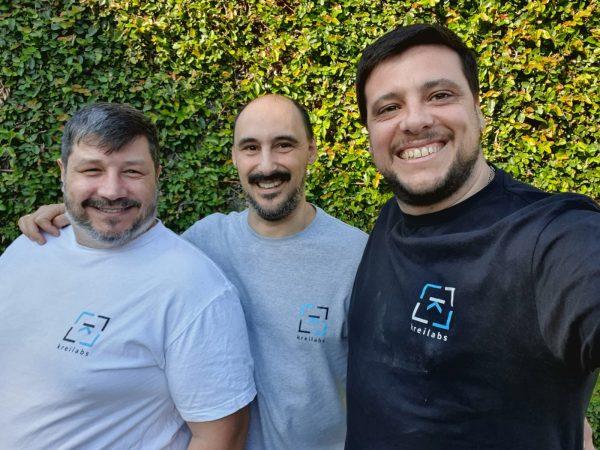 Foto de los Co-fundadores de KreiLabs en Diciembre de 2020